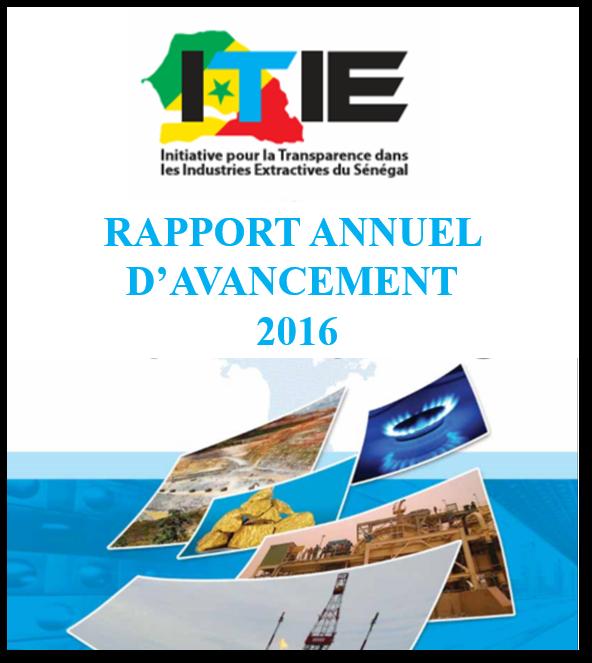 Rapport d'activités annuel 2016