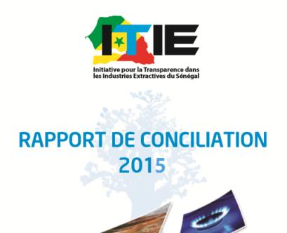 Rapport de conciliation ITIE 2015