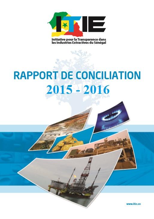 Publication du Rapport ITIE portant sur l'année fiscale 2015