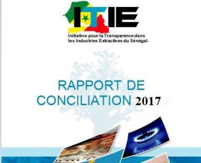 Rapport ITIE 2017